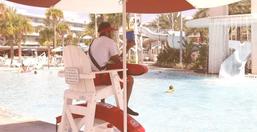 Lifeguard - One of many great summer jobs